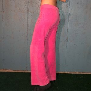 Pink Juicy Couture Track Pants